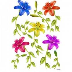 JAGS A4 Sospeso Sheet - Floral Design 6