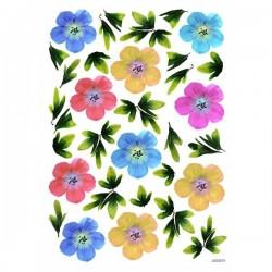 JAGS A4 Sospeso Sheet - Floral Design 7