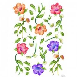 JAGS A4 Sospeso Sheet - Floral Design 9