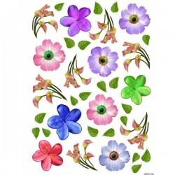JAGS A4 Sospeso Sheet - Floral Design 10