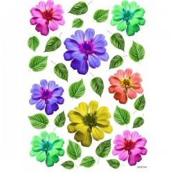JAGS A4 Sospeso Sheet - Floral Design 14