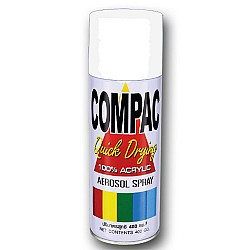 Compac Acrylic Lacquer Spray - White