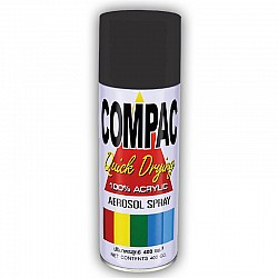 Compac Acrylic Lacquer Spray - Flat Black