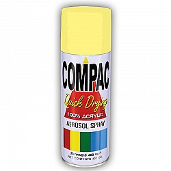 Compac Acrylic Lacquer Spray - Cream
