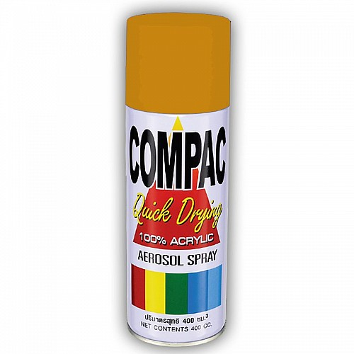 Compac Acrylic Lacquer Spray - Gold
