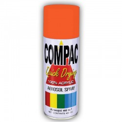 Compac Acrylic Lacquer Spray - Candy Orange