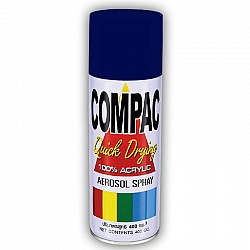 Compac Acrylic Lacquer Spray - Ford Tractor Blue
