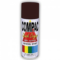 Compac Acrylic Lacquer Spray - Cocoa Brown