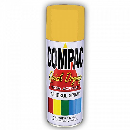 Compac Acrylic Lacquer Spray - Pearl Gold