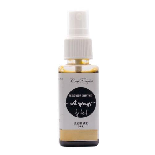 CrafTangles Art Sprays (Dye Based) - Beachy Sand (50 ml)