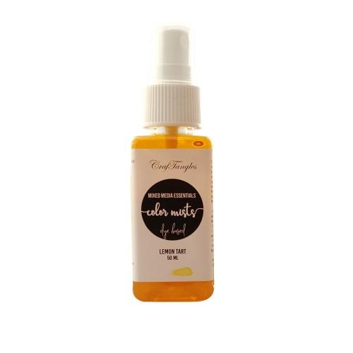 CrafTangles color mists Sprays - Lemon Tart (50 ml)