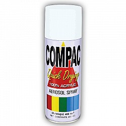 Compac Acrylic Lacquer Spray - Flat White