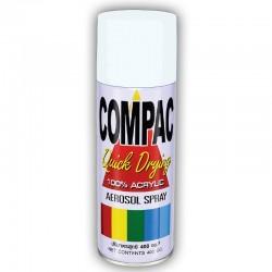 Compac Acrylic Lacquer Spray - Flat White
