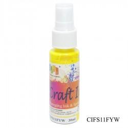 Craft Spray Ink - Fluorescent Yellow (30 ml)