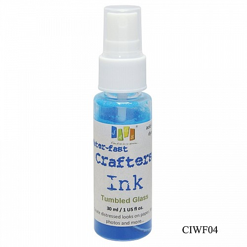 Jags Waterfast Crafters Ink - Tumbled Glass (30 ml)