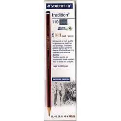 Staedtler Tradition Drawing Pencil - 6 assorted degrees
