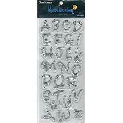 Alphabet Clear Stamp (Design 1)
