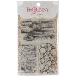 BoBunny Stamps - Wall to Wall Textures