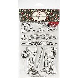 """Colorado Craft Company Clear Stamps 4""""X6"""" - Be Mine Lovely Legs"""