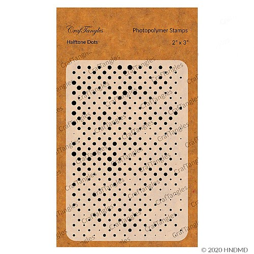 CrafTangles Photopolymer Stamps - Halftone Dots