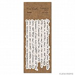 CrafTangles Photopolymer Stamps - Script