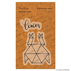 CrafTangles Photopolymer Stamps - Horoscopes - Cancer