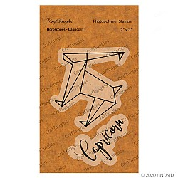 CrafTangles Photopolymer Stamps - Horoscopes - Capricorn