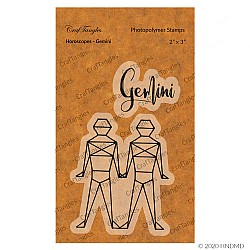 CrafTangles Photopolymer Stamps - Horoscopes - Gemini