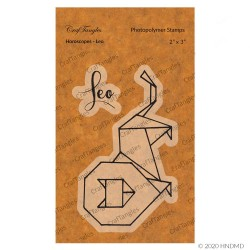 CrafTangles Photopolymer Stamps - Horoscopes - Leo