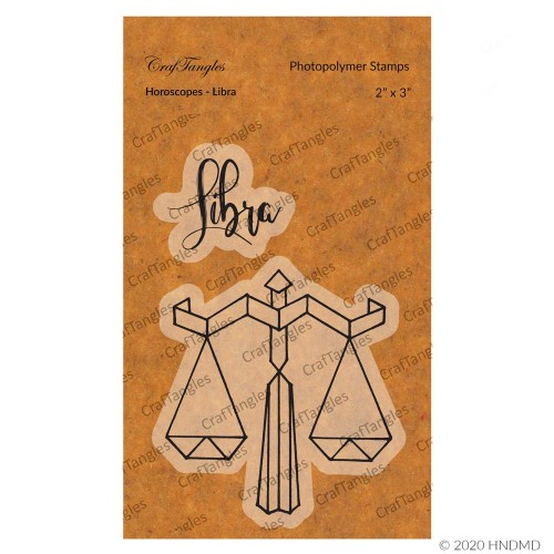 CrafTangles Photopolymer Stamps - Horoscopes - Libra
