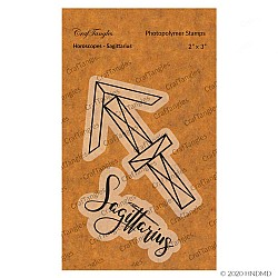 CrafTangles Photopolymer Stamps - Horoscopes - Sagittarius