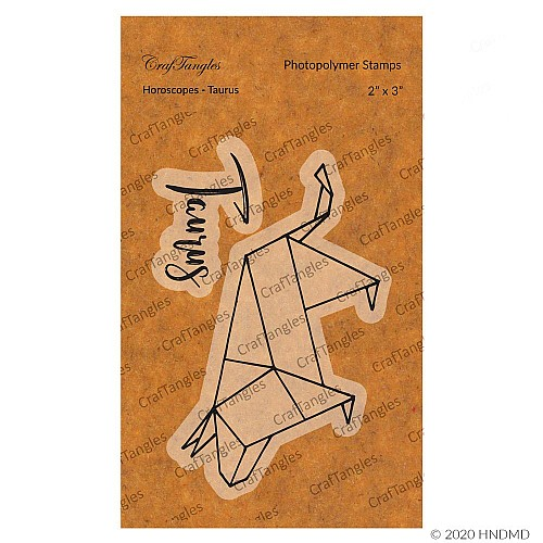 CrafTangles Photopolymer Stamps - Horoscopes - Taurus
