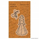 CrafTangles Photopolymer Stamps - Horoscopes - Virgo
