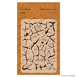 CrafTangles Photopolymer Stamps - Crackle