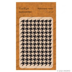 CrafTangles Photopolymer Stamps - Houndstooth Pattern