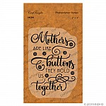 CrafTangles Photopolymer Stamps - Mom