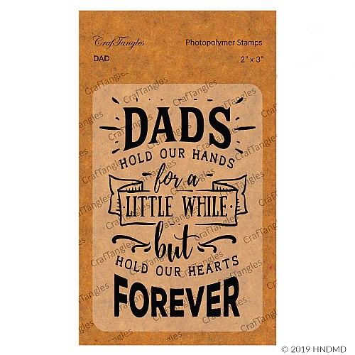 CrafTangles Photopolymer Stamps - Dad