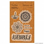 CrafTangles Photopolymer Stamps - Diwali Wishes