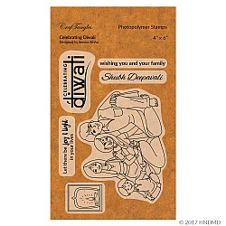 CrafTangles Photopolymer Stamps - Celebrating Diwali