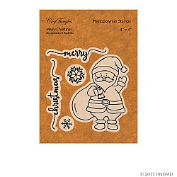 CrafTangles Photopolymer Stamps - Merry Christmas
