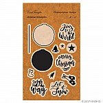 CrafTangles Photopolymer Stamps - Christmas Ornaments