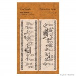 CrafTangles Photopolymer Stamps - Warli Borders