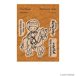CrafTangles Photopolymer Stamps - Little Prince (4 by 4 stamp)