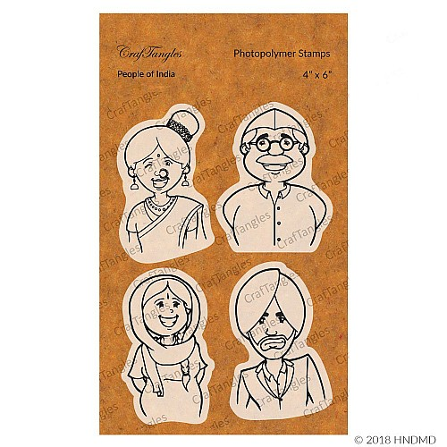 Creative masking with stamps (Celebrate Womanhood) 2