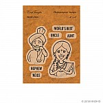 CrafTangles Photopolymer Stamps - Worlds Best