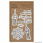 CrafTangles Photopolymer Stamps - Festival of Lights