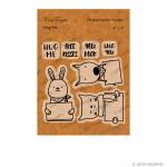 CrafTangles Photopolymer Stamps - Hug Me