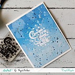 CrafTangles Photopolymer Stamps - Love you to Moon