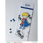 CrafTangles co-ordinated Stamp and Die Set - SuperBoys