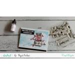 CrafTangles Photopolymer Stamps - Festive Lights
